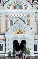orthodoxe Alexander-Nevski-Kathedrale in Tallinn (Reval), Estland, Europa, Unesco-Weltkulturerbe