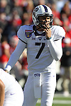 December 30, 2016: TCU quarterback Kenny Hill (7) in the first half of the AutoZone Liberty Bowl at Liberty Bowl Memorial Stadium in Memphis, Tennessee. ©Justin Manning/Eclipse Sportswire/Cal Sport Media