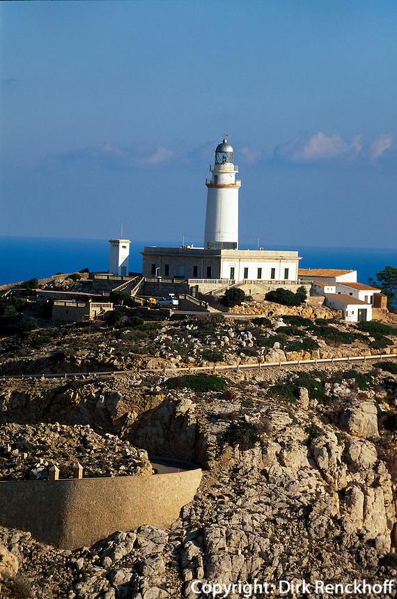 Spanien, Mallorca, Leuchtturm auf der Halbinsel Formentor