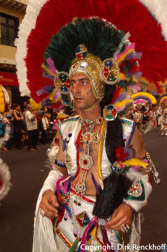 Spanien, Kanarische Inseln, Gran Canaria, Karneval in Las Palmas