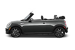 Car Driver side profile view of a 2015 MINI Mini Cooper S 2 Door Convertible Side View