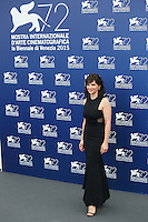 Juliette Binoche attends the photocall for the movie 'The Wait' during 72nd Venice Film Festival at the Palazzo Del Cinema, in Venice, Italy, September 5, 2015. <br /> UPDATE IMAGES PRESS/Stephen Richie