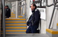 Wednesday, 23 April 2014<br /> Pictured: Chairman Huw Jenkins.<br /> Re: Swansea City FC are holding an open training session for their supporters at the Liberty Stadium, south Wales,