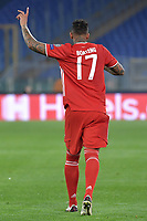 Jerome Boateng of FC Bayern Munchen reacts during the Champions League round of 16 football match between SS Lazio and Bayern Munchen at stadio Olimpico in Rome (Italy), February, 23th, 2021. Photo Andrea Staccioli / Insidefoto