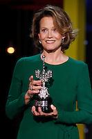 Sigourney Weaver receives the Donostia award 2016 to a lifetime achievements during the 64th San Sebastian film festival at the Kursaal in San Sebastian, Spain, 21/09/2016. # FESTIVAL INTERNATIONAL DU FILM DE SAN SEBASTIAN - JOUR 7