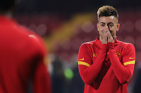 Stephan El Shaarawy of AS Roma prior to the Serie A football match between Benevento Calcio and AS Roma at Ciro Vigorito stadium in Benevento (Italy), February 21, 2021. <br /> Photo Cesare Purini / Insidefoto