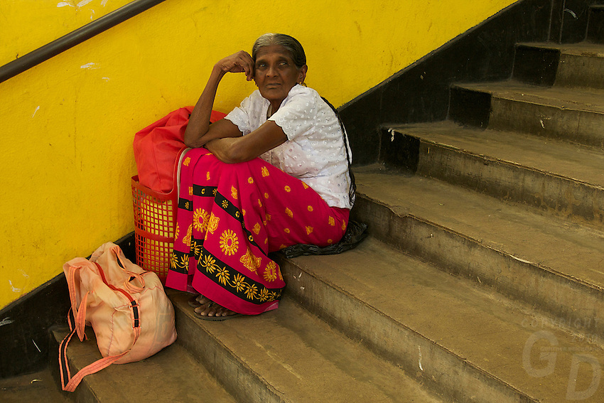 Streets scene and Markets in Kandy, Sri Lanka
