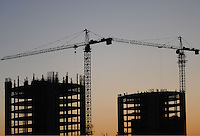 Building continues unabated in Astana, the capitol of Kazakstan.<br /><br />PHOTO BY RICHARD JONES/SINOPIX