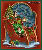 Liz,CHRISTMAS SYMBOLS, WEIHNACHTEN SYMBOLE, NAVIDAD SÍMBOLOS, LizDillon, paintings+++++,USHCLD0329B,#XX#