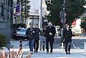 Keanu Reeves on set of TV series in Yokohama