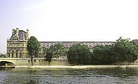 Paris: Louvre Galerie--western range of Galerie Du Bord de L'Eau. Henri IV.