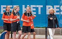 Amstelveen, Netherlands, 6 Juli, 2021, National Tennis Center, NTC, Amstelveen Womans Open, ballgirls<br /> Photo: Henk Koster/tennisimages.com
