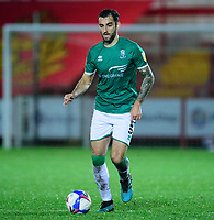 Lincoln City's Adam Jackson<br /> <br /> Photographer Andrew Vaughan/CameraSport<br /> <br /> The EFL Sky Bet League One - Accrington Stanley v Lincoln City - Saturday 21st November 2020 - Crown Ground - Accrington<br /> <br /> World Copyright © 2020 CameraSport. All rights reserved. 43 Linden Ave. Countesthorpe. Leicester. England. LE8 5PG - Tel: +44 (0) 116 277 4147 - admin@camerasport.com - www.camerasport.com