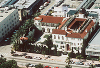 Miami Beach, Florida 7.15.97<br /> Aerial view of Versace mansion<br /> Photo by Michael Leshay/PHOTOlink