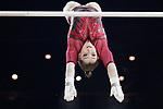 Gymnastics World Cup  23.3.19. World Resorts Arena. Birmingham UK. Aliya Mustafina (RUS) in action