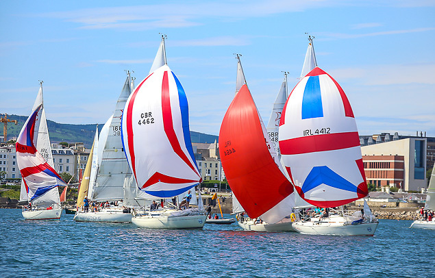 385 boats to date had entered for July's now-cancelled Volvo Dun Laoghaire Regatta