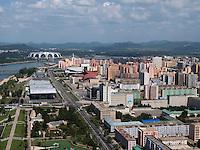 1.Mai Stadion in Pyongyang, Nordkorea, Asien<br /> 1.Mai Stadium, Pyongyang, North Korea, Asia