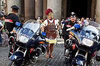 Italy 2011. I am a romanian in Rome