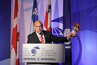 Angel Gurria, Secretary-General, Organisation for Economic Co-operation and <br /> Development (OECD attend the 22nd edition of the Conference of Montreal, held June 13 to 15, 2016<br /> <br /> PHOTO : Pierre Roussel -  Agence Quebec Presse