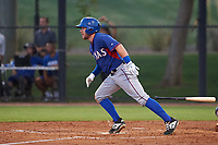 AZL Rangers Blaine Crim (60) at bat during an Arizona League game against the AZL Dodgers Mota at Camelback Ranch on June 18, 2019 in Glendale, Arizona. AZL Dodgers Mota defeated AZL Rangers 13-4. (Zachary Lucy/Four Seam Images)