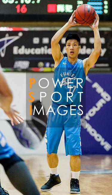 Hon Yuk Kin #17 of Fukien Basketball Team handles the ball during the Hong Kong Basketball League game between Winling and Fukien at Southorn Stadium on May 29, 2018 in Hong Kong. Photo by Yu Chun Christopher Wong / Power Sport Images