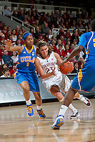 STANFORD, CA - January 20, 2011: Stanford Cardinal's Jeanette Pohlen during Stanford's 64-38 victory over UCLA at Maples Pavilion in Stanford, California.
