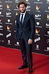 Alvaro Cervantes attends red carpet of Feroz Awards 2018 at Magarinos Complex in Madrid, Spain. January 22, 2018. (ALTERPHOTOS/Borja B.Hojas)