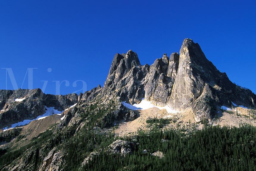 Liberty Bell Mountain, Washington Pass Overlook, North Cascades, Washington