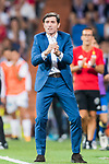 Coach Marcelino Garcia Toral of Valencia CF during their La Liga 2017-18 match between Real Madrid and Valencia CF at the Estadio Santiago Bernabeu on 27 August 2017 in Madrid, Spain. Photo by Diego Gonzalez / Power Sport Images