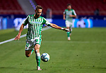 Sergio Canales (Real Betis) seen in action during  La Liga match round 36 between Atletico de Madrid and Real Betis Balompie at Wanda Metropolitano Stadium in Madrid, Spain, as the season resumed following a three-month absence due to the novel coronavirus COVID-19 pandemic. Jul 11, 2020. (ALTERPHOTOS/Manu R.B.)