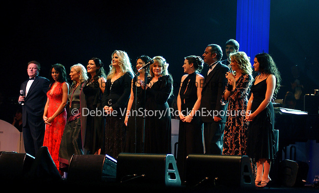 Don Henley,Deborah Cox,Joni Mitchell,Susan Tedeschi,Trisha Yearwood,Michelle Branch,Stevie Nicks,Paula Cole,Sheryl Crow and Norah Jones at the Stormy Weather Benefit Concert held at The Wiltern Theatre in L.A ,California on November 13,2002.Photo by RockinExposures