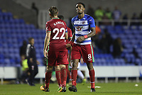 Leroy Fer of Swansea City after the final whistle of the Carabao Cup Third Round match between Reading and Swansea City at Madejski Stadium, Reading, England, UK. Tuesday 19 September 2017