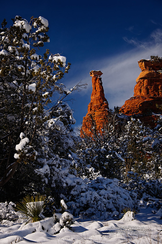 Sedona Winter Wonderland Part 2.  Available in sizes up to 30 x 45 inches.