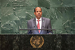 His Excellency Mahmoud Ali YOUSSOUF Minister for Foreign Affairs and International Cooperation of Djibouti
