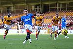 27.09.2020 Motherwell v Rangers:  James Tavernier scores his second penatly kick