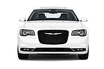 Car photography straight front view of a 2018 Chrysler 300 S 4 Door Sedan