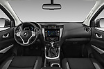 Stock photo of straight dashboard view of a 2018 Renault Alaskan Foraker 4 Door Pick Up