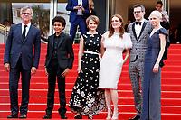 WONDERSTRUCK , ETATS - UNIS , ET L'EQUIPE DU FILM - RED CARPET OF THE FILM 'LOVELESS (NELYUBOV)' AT THE 70TH FESTIVAL OF CANNES 2017