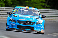 Race of Germany Nürburgring Nordschleife 2016 Free Training 1 WTCC 2016 #61 TC1 Polestar Cyan Racing. Volvo S60  WTCC Fredrik Ekblom (SWE) © 2016 Musson/PSP. All Rights Reserved.