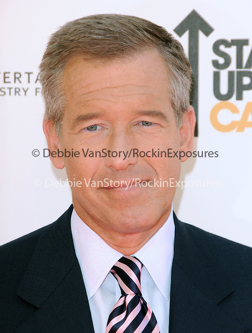 Brian Williams at Stand Up to Cancer held at Sony Picture Studios in Culver City, California on September 10,2010                                                                               © 2010 Hollywood Press Agency