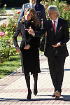 """Madrid Princess Letizia attended the eighth edition of the """"Sustainable City Awards"""" at the rose garden pavilion in Madrid on october 18th 2010...Photo: Cesar Cebolla / ALFAQUI"""