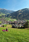 Oesterreich, Salzburger Land, Pongau, Gasteinertal, Dorfgastein   Austria, Salzburger Land, Gasteiner Valley, Dorfgastein