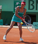 at Roland Garros in Paris, France on May 27, 2012