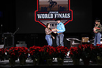 Tylie McDonald during the Break Away and Tie Down Roping Back Number presentation at the Junior World Finals. Photo by Andy Watson. Written permission must be obtained to use this photo in any manner.