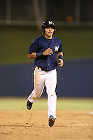 Joantgel Segovia (6) of the AZL Brewers runs the bases during a game against the AZL Athletics at Maryvale Baseball Park on June 30, 2015 in Phoenix, Arizona. Brewers defeated Athletics, 4-2. (Larry Goren/Four Seam Images)