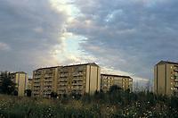 Milano, periferia nord - ovest, quartiere gallaratese --- Milan, north - west periphery, gallaratese district