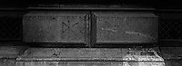Dead Kennedys graffiti on building.<br />