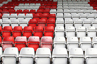 General view empty seats during Stevenage vs Exeter City, Sky Bet EFL League 2 Football at the Lamex Stadium on 24th September 2016
