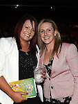 Marie Doyle and Siobhan Leonard pictured at Naomh Fionnbarra Strictly Come Dancing in the TLT. Photo:Colin Bell/pressphotos.ie