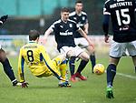 Dundee v St Johnstone…10.03.18…  Dens Park    SPFL<br />Murray Davidson scores saints first goal<br />Picture by Graeme Hart. <br />Copyright Perthshire Picture Agency<br />Tel: 01738 623350  Mobile: 07990 594431
